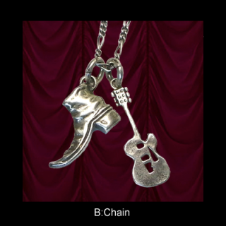Boots&Guitar Necklace