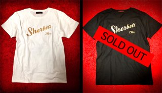 SHERBETS ロゴ TEE(Produced by Qumico)