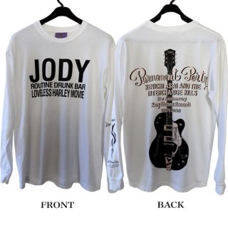 <img class='new_mark_img1' src='https://img.shop-pro.jp/img/new/icons14.gif' style='border:none;display:inline;margin:0px;padding:0px;width:auto;' />JODY LONG SLEEVE TEE / WHITE