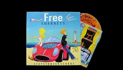 SHERBETS『FREE』限定スペシャルピクチャー盤