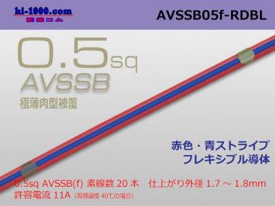 住友電線AVSSB0.5f 自動車用薄肉低圧電...