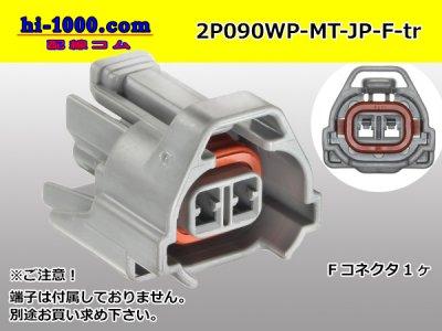 住友MTシリーズ2極Fコネクタのみ灰色/2P090WP-MT-JP-F-tr