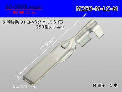 矢崎250型91シリーズM-LCタイプM端子(Mサイズ)/M250-M-LC-M