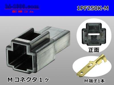 250型1極PFシリーズ黒色Mコネクタキット/1PF250K-M