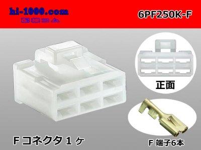 250型6極PFシリーズFコネクタキット/6PF250K-F