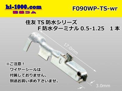 090型TS【防水】F端子のみ(ワイヤーシール無し)/F090WP-TS-wr