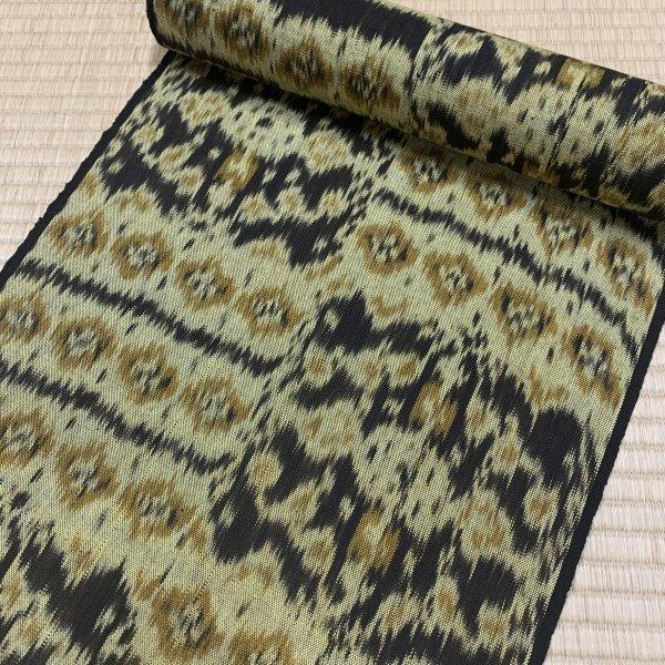 イカット手織り帯