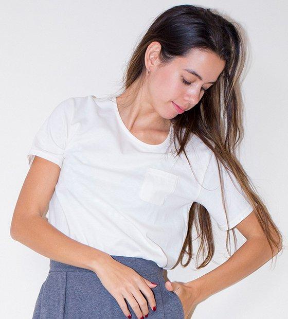 nanadecorポケットTシャツ
