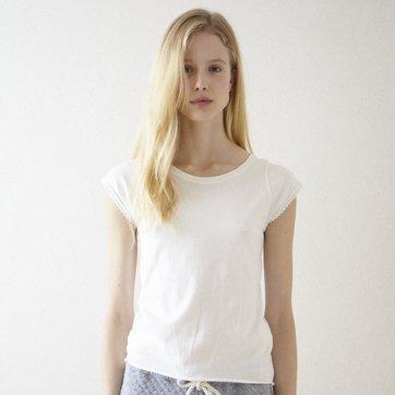 ライラックTシャツ