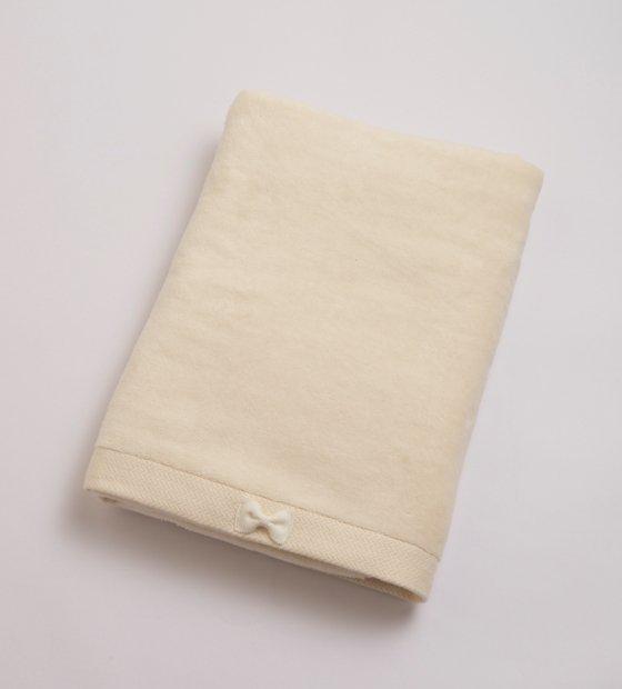 リボンバスタオルホワイト