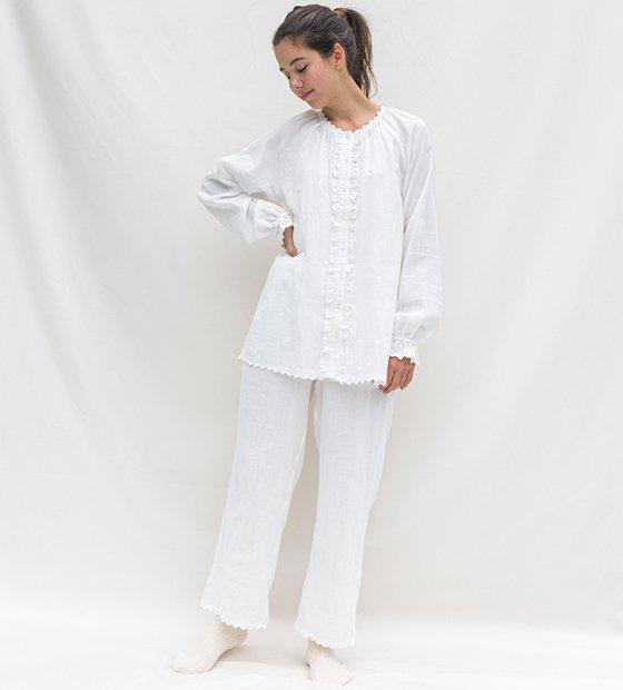 カモミールガーゼシャツ