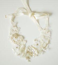 レーシー刺繍ネックレス