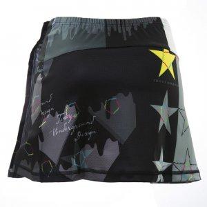 Star Black サイクルスカート(ブラック)