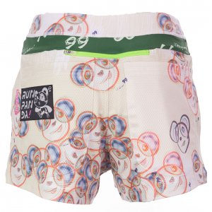 Pandani99レディースジョギングパンツ(クリームイエロー)