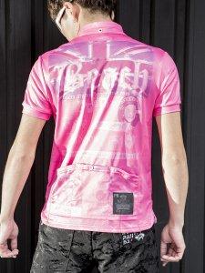 Death Beach サイクルポロシャツ(ピンク)