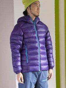 lyngen lightweight down 750 jacket(Men's)/ Deep purple