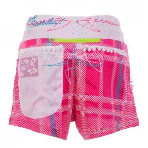 Pinstripeレディースジョギングパンツ(ピンク)