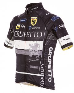GRUPETTO Ver.4 レーシング半袖ジャージ(ブラック)