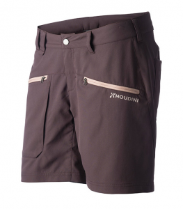 Woman's  Gravity Light Shorts / Backbeat Brown