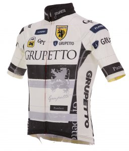 GRUPETTO Ver.4 レーシング半袖ジャージ(ホワイト)