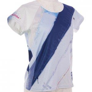RUN PANDA! Ladies EKIDEN CARBON Tシャツ(ホワイト)