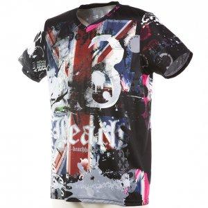 RUN PANDA! DB3 Tシャツ(MEN's) (ブラック)