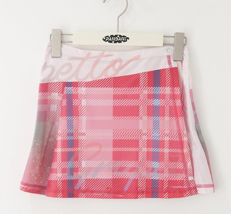 Pinstripe サイクルスカート(ピンク)