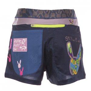 99 Usagi レディースジョギングパンツ(ネイビー)