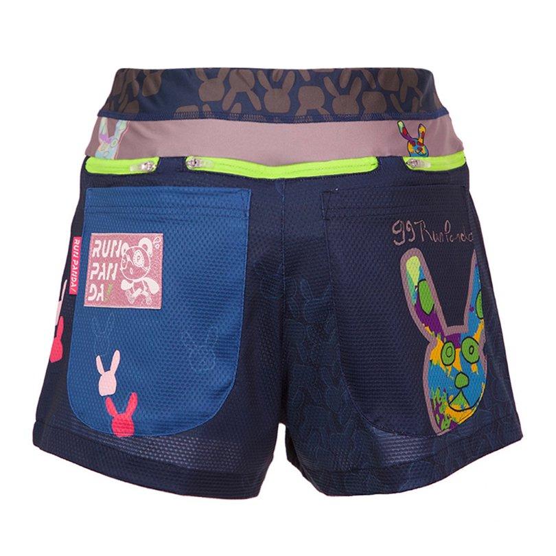 99 Usagi 7 Pockets レディースジョギングパンツ/ネイビー