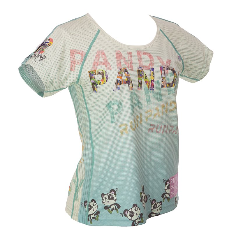 RUN PANDA! Ladies' Harajuku CARBON Tシャツ