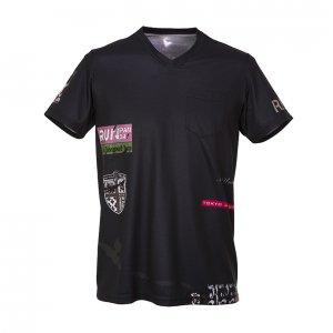 RUN PANDA! Men's R.P.R.C CARBON Tシャツ(ブラック)