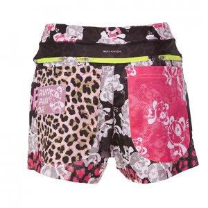 Venga! Leopard(豹柄 ) 7 Pockts レディースジョギングパンツ(ブラック/ホワイト)