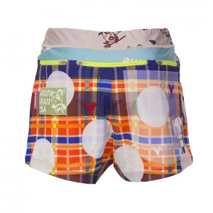 水玉Venga! Pandani 7 Pockets レディースジョギングパンツ(オレンジ)