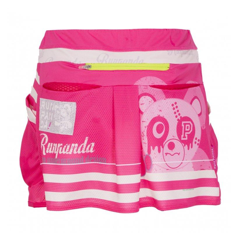 PiRATES Pandani ランニング&サイクルスカート(ピンク)
