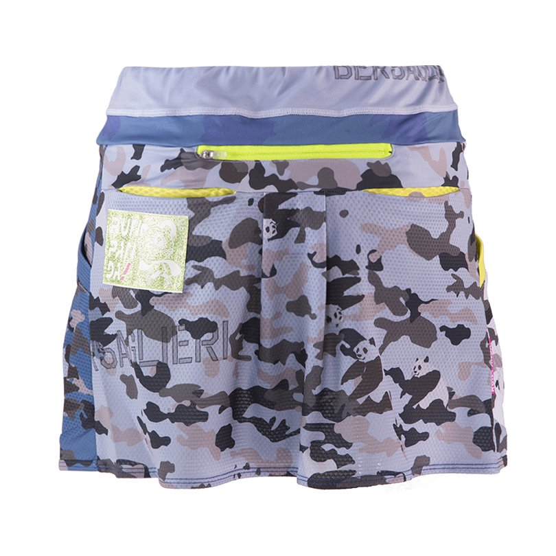 Panda ARMY レディース ランニングスカート(ネイビー)