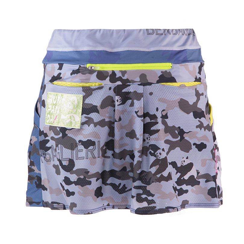 Panda ARMY レディース ランニングスカート(ネイビー)◆残りLサイズのみ◆