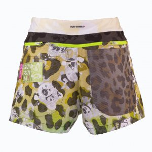 <img class='new_mark_img1' src='https://img.shop-pro.jp/img/new/icons1.gif' style='border:none;display:inline;margin:0px;padding:0px;width:auto;' />Venga! Leopard(豹柄) 7 Pockts レディースジョギングパンツ(イエロー)
