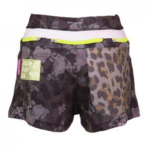Venga! Leopard(豹柄) 7 Pockts レディースジョギングパンツ/ブラックブラック