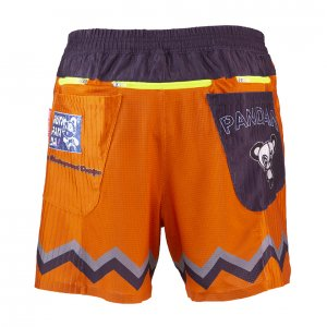 CUTIE 70's 7 Pockets 6inchランニングパンツ(オレンジ)