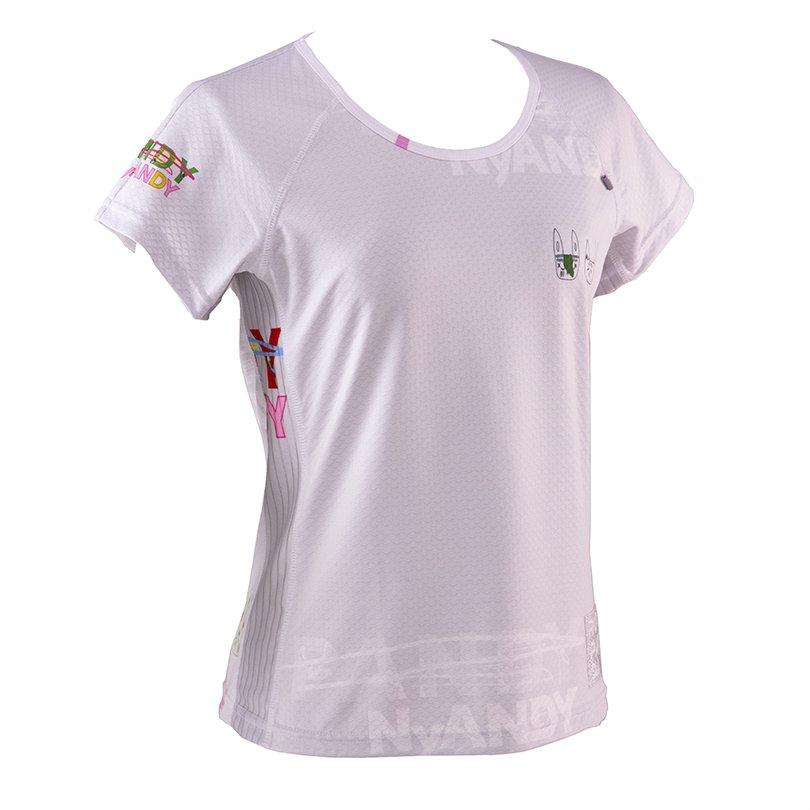 うさみみ悪猫団 Ladies' CARBON Tシャツ(ホワイト)