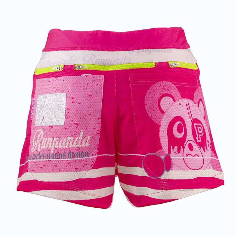 PiRATES Pandani 7 Pockets レディースジョギングパンツ(ピンク)