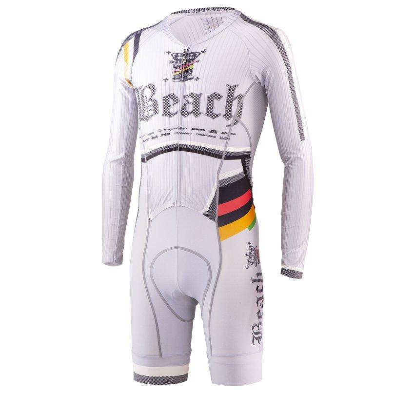 Beach Ver.7 RS長袖ワンピース(グレー)