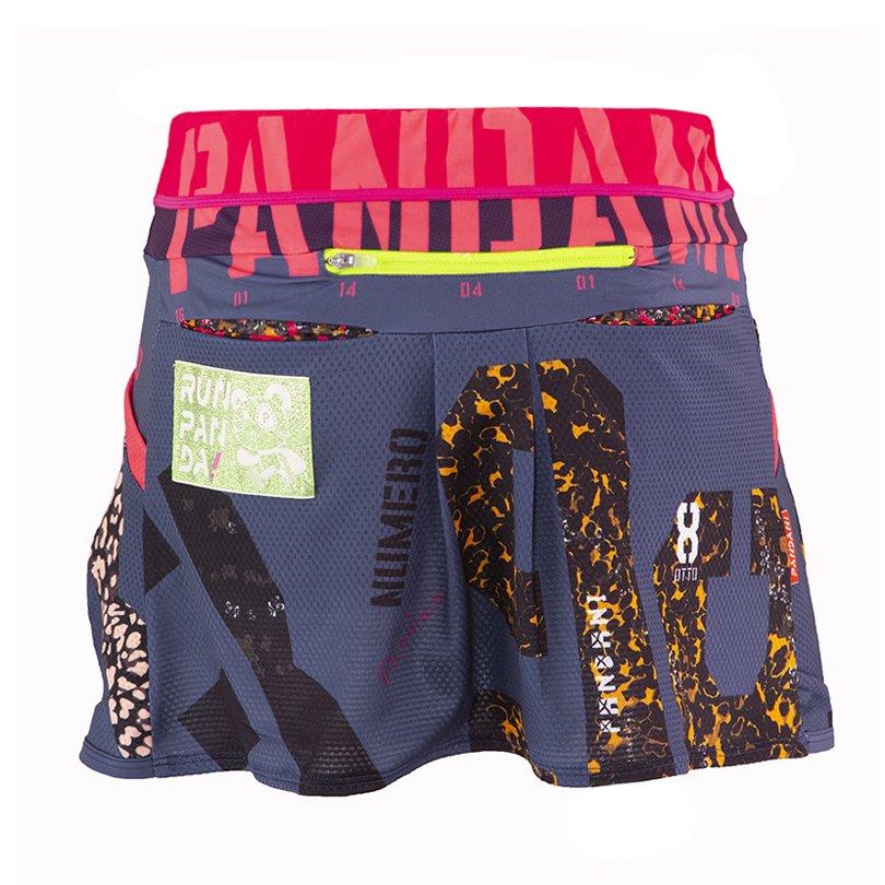 NUMERO サイクル&ランニングスカート(Leopardネイビー)