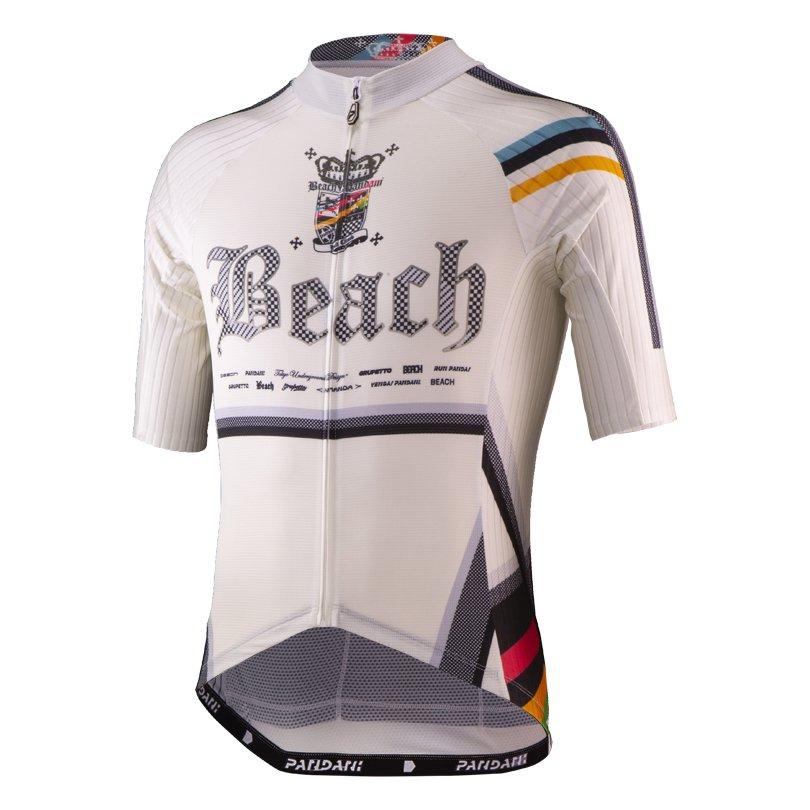 Beach Ver.7 Aero半袖ジャージ/ホワイト