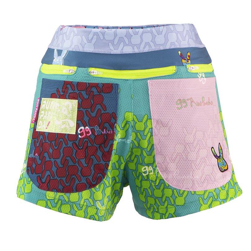 99 Usagi 7 Pockets レディースジョギングパンツ/グリーン