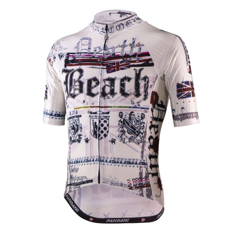 Death Beach RF Aero半袖ジャージ/ホワイト
