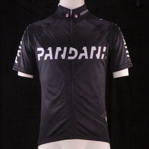 PANDANIボタンダウン襟HF 半袖ジャージ(ブラック) サンプル品