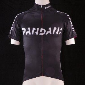 PANDANIスタンド襟HF 半袖ジャージ(ブラック) サンプル品