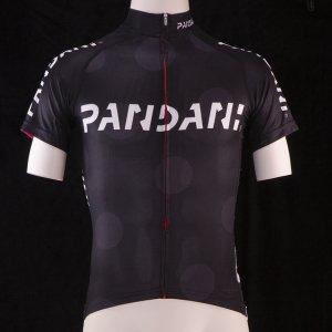 PANDANIスタンド襟L1 半袖ジャージ(ブラック) サンプル品