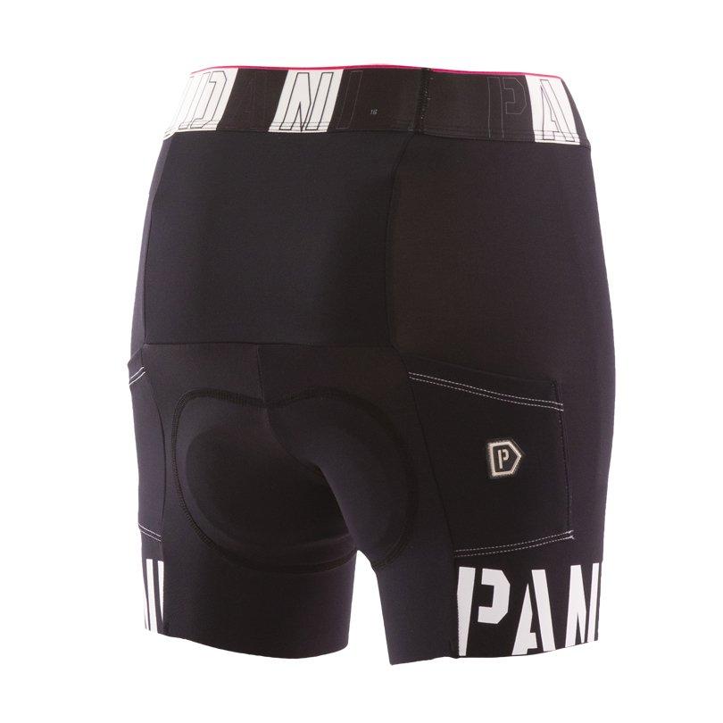 Pandani RRレディースサイクルパンツ/ブラック